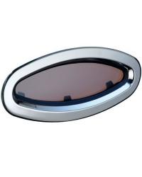 Hublot inox Lewmar elliptique modèle 8