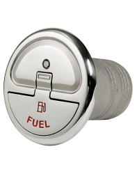 Nable Quick Lock inox droite fuel 38mm