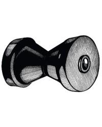 Diabolo ø80 x 130 mm noir