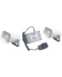 Avertisseur/sifflet électronique multifonction avec signaux codifiables 24V