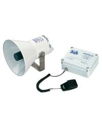 Avertisseur électronique avec ampli 24V avec sirène