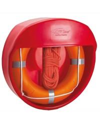 Porte bouée couronne en plastique pour plage ou piscine