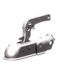 Tête d'attelage pour remorque pour tube rond de 35 mm - 1300 kg