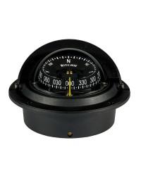 Compas RITCHIE Wheelmark encastrable 76 mm avec éclairage boitier noir - rose noire