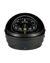 Compas RITCHIE Wheelmark externe 76 mm avec éclairage boitier noir - rose noire