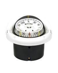 Compas RITCHIE Helmsman encastrable 94 mm avec éclairage blanc - rose lecture combinée blanche