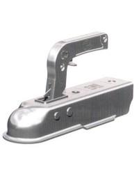 Tête d'attelage pour remorque pour tube carré de 50 mm - 1300 kg