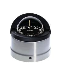 Compas RITCHIE Navigator externe 114 mm avec éclairage boitier noir - rose noire