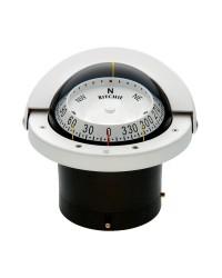 Compas RITCHIE Navigator encastrable 114 mm avec éclairage - blanc - lecture combinée
