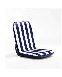 Coussin et siège auto-portant Comfort Seat 100x49x8 blanc bleu