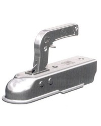 Tête d'attelage pour remorque pour tube carré de 50 mm - 750 kg