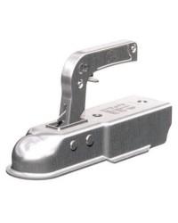 Tête d'attelage pour remorque pour tube carré de 60 mm - 750 kg