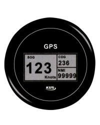 Speedomètre/totaliseur/boussole GPS GUARDIAN noir-noir