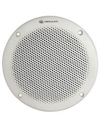 Enceinte stéréo extra plate Sound Marine 50W Ø180mm encastrable blanche