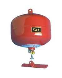 Extincteur automatique à pluie de poudre catégories ABC 6Kg