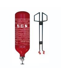 Extincteur automatique cylindrique  2 Kg pour support paroi