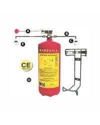 Extincteur automatique Firekill 6 Kg Homologué RINA