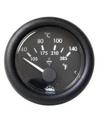 Indicateur de température d'eau GUARDIAN 12V - noir
