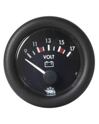 Voltmètre GUARDIAN 10-16V - noir 10/16V