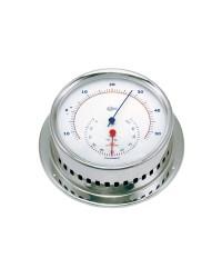 Instruments BARIGO Sky Hygro/thermomètre boîtier inox poli cadran blanc