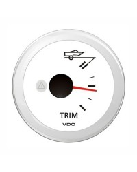 Indicateur TRIM VDO ViewLine 84-5 ohms 12V blanc