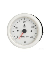 Compte-tours Guardian 2/4 temps 7000 RPM 24V blanc
