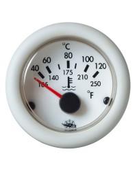Indicateur de température d'huile Guardian 12V blanc