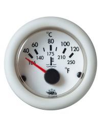 Indicateur de température d'huile Guardian 24V blanc