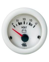 Voltmètre Guardian 10-16V blanc