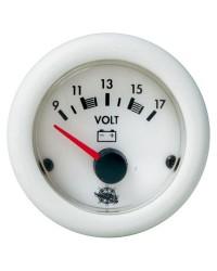 Voltmètre Guardian 20-32V blanc