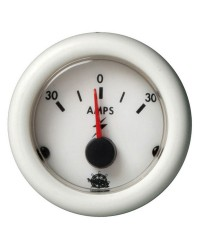 Ampèremètre Guardian 60-0-60A blanc