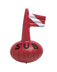 Bouée SUB gonflable 38x50cm pour plongeur