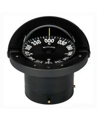 Compas RITCHIE Wheelmark encastrable 114 mm avec éclairage boitier noir - rose noire