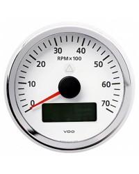 Compte-tours avec horamètre + voltmètre + compte heures VDO ViewLine