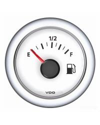 Afficheur carburant VDO ViewLine 240-33 Ohms - blanc