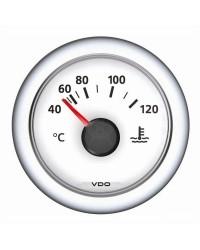 Indicateur de temperature ViewLine eau 40/120°C blanc