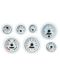 Ampèremètre VDO ViewLine -60A + 60A blanc