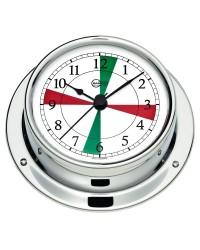 Horloge Barigo Tempo S laiton chromé