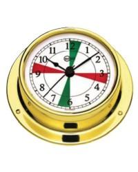 Horloge Barigo Tempo S laiton poli