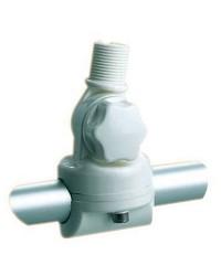 Embase articulé pour pour balcon 22/25mm en nylon pour antenne VHF