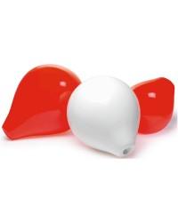 Bouée CC3 rouge 47cm - sans tige centrale