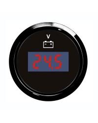 Voltmètre numérique GUARDIAN cadran noir, lunette noire