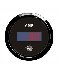 Ampèremètre numérique GUARDIAN cadran noir, lunette noire
