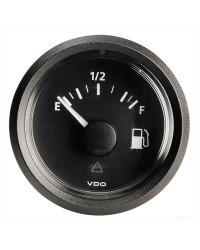 Afficheur carburant VDO ViewLine 240-33 Ohms - noir