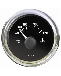 Thermomètre eau 40-120°C VDO View Line - 12V - noir