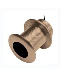 Sonde profondeur traversante B75H en bronze avec CHIRP technologie 130/210Khz