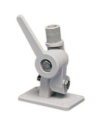 Pied d'antenne en nylon blanc VHF/GPS