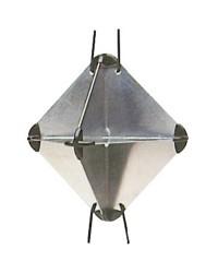 Réflecteur radar 34x34x47 mm