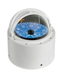 Compas Riviera 4'' avec dome téléscopique blanc/bleu +25Knd