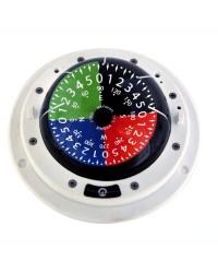 Compas tactique de régate RIVIERA 3 blanc